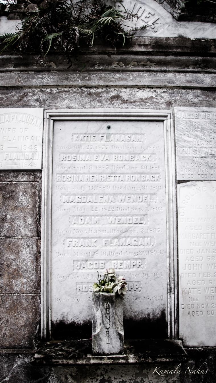Lafayette Cemetery No.1-3
